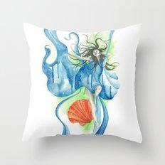 Zodiac - Aquarius Throw Pillow