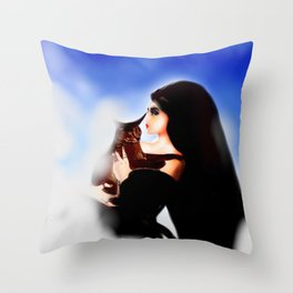 Underscore Throw Pillow