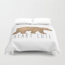 Beary Cute Duvet Cover