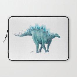 Blue Stegosaurus Laptop Sleeve