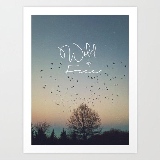 WildandFree Art Print
