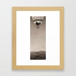 Jungle Rescue Vintage Framed Art Print