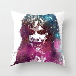 Galaxy Linda Blair Regan MacNeil The Exorcist Throw Pillow
