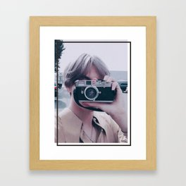BTS V Framed Art Print