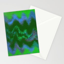 NINETY KILOMETERS ABOVE THE FORESTS OF ZARA TWO Stationery Cards