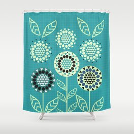 Floral romance Shower Curtain