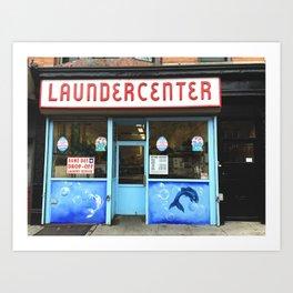 Laundercenter Art Print