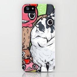 Lionhead Rabbit Friends iPhone Case