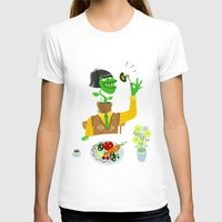 vegetarian T-shirts featuring Vegetarian parody by Bakal Evgeny