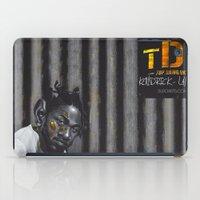 kendrick lamar iPad Cases featuring KENDRICK LAMAR by Duroarts