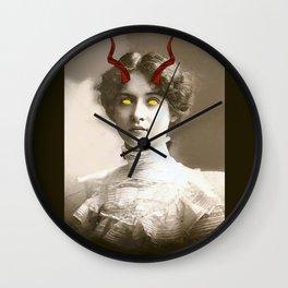My Girl Ain't Bad. She More Like Evil Wall Clock