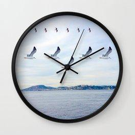 flight formations Wall Clock