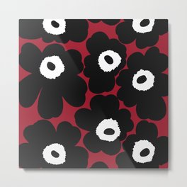 Chic Flower Metal Print