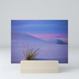 White Sands Mini Art Print