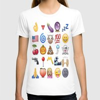 emoji T-shirts featuring Emoji  by rivercbishop