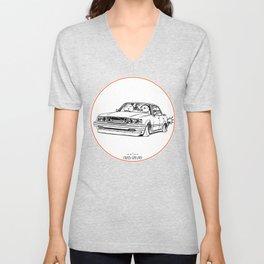 Crazy Car Art 0199 Unisex V-Neck