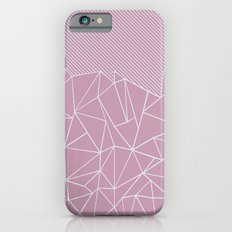 Ab Lines 45 Pink Slim Case iPhone 6s