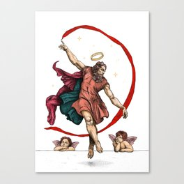 The dance of eternity Canvas Print