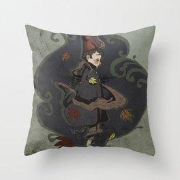 Wirt the pilgrim Throw Pillow