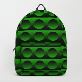 Green Bubbles Backpack