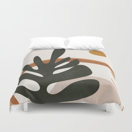 Abstract Plant Life I Duvet Cover