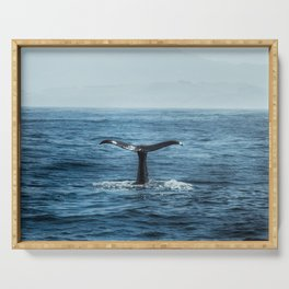 Whale tail - Hamptons Style Serving Tray