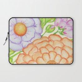 Floral Cockatiel Laptop Sleeve