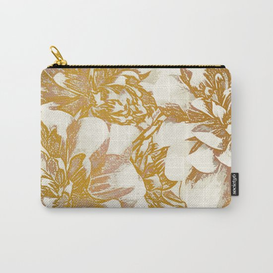 Proud Dahlias Carry-All Pouch