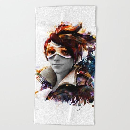 trace Beach Towel