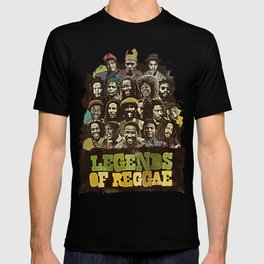 Legends of Reggae Poster T-shirt