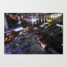 New York City Street Miniature Canvas Print