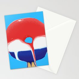 Astropop donut Stationery Cards