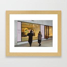 Shop for dancing Paris Framed Art Print