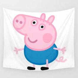 George Pig Peppa Pig Wall Tapestry