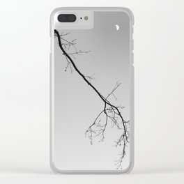 Moon Conversations Clear iPhone Case