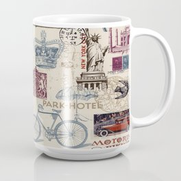 Around the World Coffee Mug