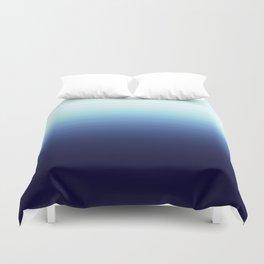 Nautical Blue Ombre Duvet Cover