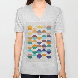 Minimalist pattern XIX Unisex V-Neck