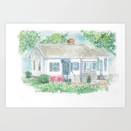 Brentwood Art Print