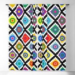 Digital Crochet Blackout Curtain