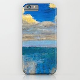The Still Sea & Sailing Yachts Nautical Landscape by Emil Nolde iPhone Case