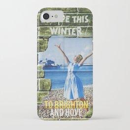 Vintage Escape this winter iPhone Case