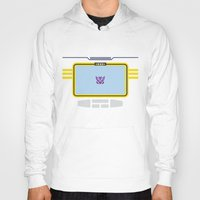 transformers Hoodies featuring Soundwave Transformers Minimalist by Jamesy