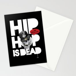 HipHop is Dead... Stationery Cards