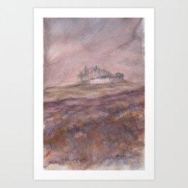 Skiddaw House Cumbria Art Print