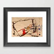 Splino Framed Art Print