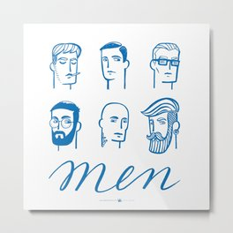 Men (are not all the same) Metal Print