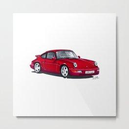Porsche 964. Metal Print