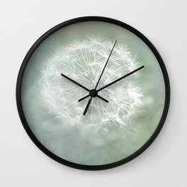 Seed Head with Texture Wall Clock