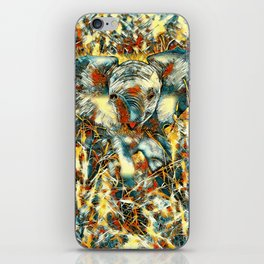 AnimalArt_Elephant_20170905_by_JAMColorsSpecial iPhone Skin